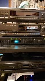 Tuner collection; Technics GT650, ST-G90L, Arcam Delta 80, Rega Radio, Creek, T40, Denon 1500RD
